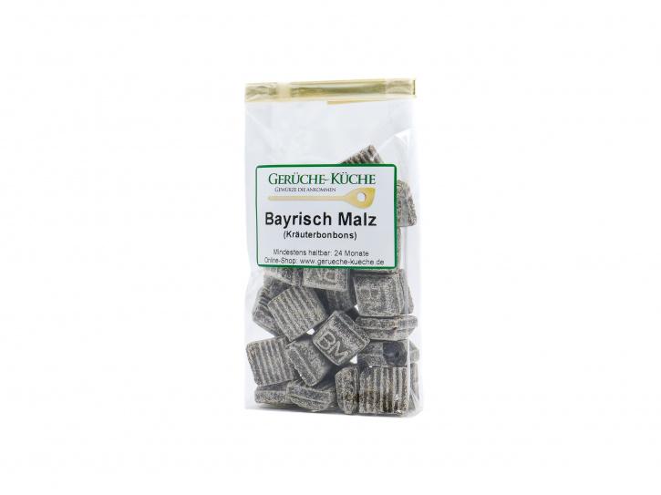 Bayrisch Malz Kräuterbonbons, kandiert