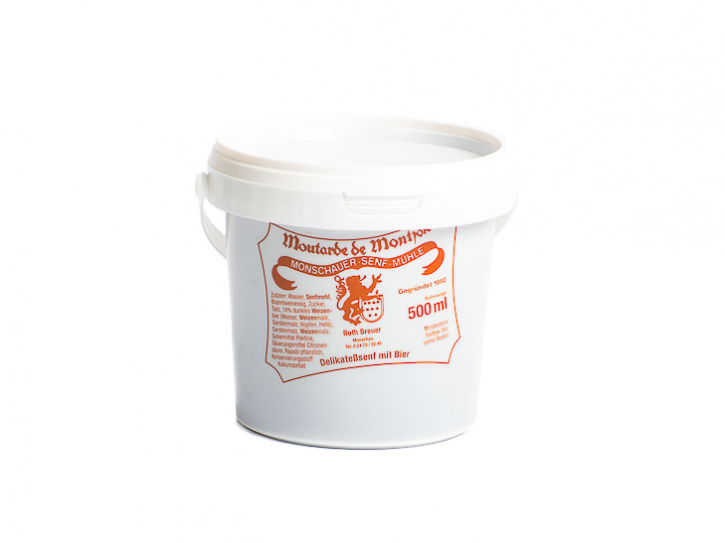 Biersenf - Monschauer Senf - Moutarde de Montjoie - 500 ml