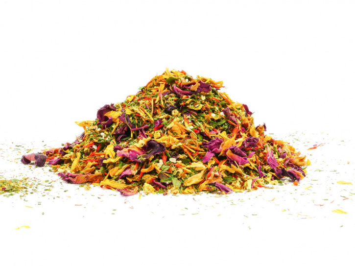 Blütenmischung für Salat (Gewürzmischung)