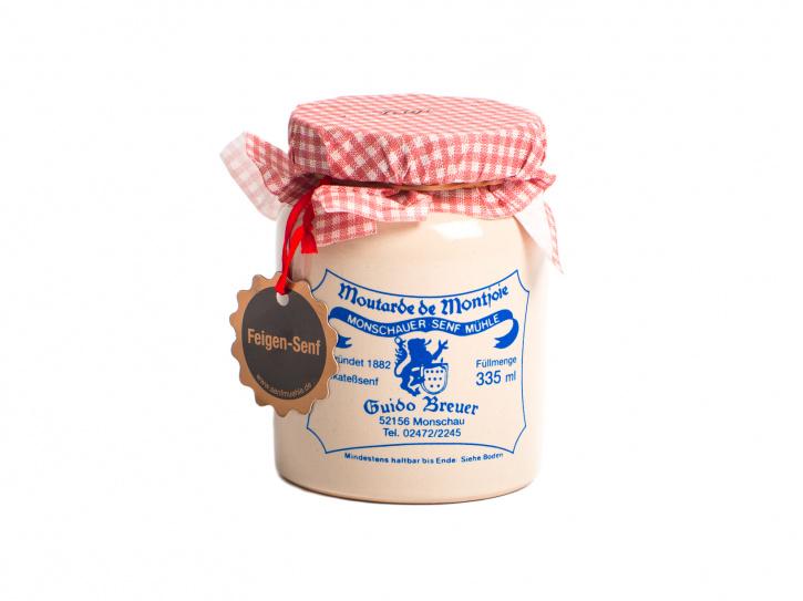 Feigen Senf - Moutarde de Montjoie - 335 ml