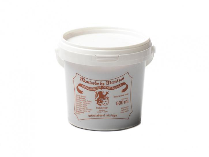 Feigen Senf - Monschauer Senf - Moutarde de Montjoie - 500 ml