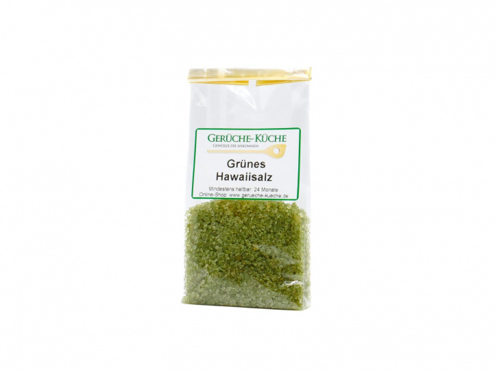Hawaii Salz grün - Bamboo Jade