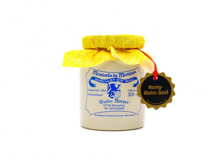 Honig-Mohn-Senf - 335 ml - Monschauer Senf