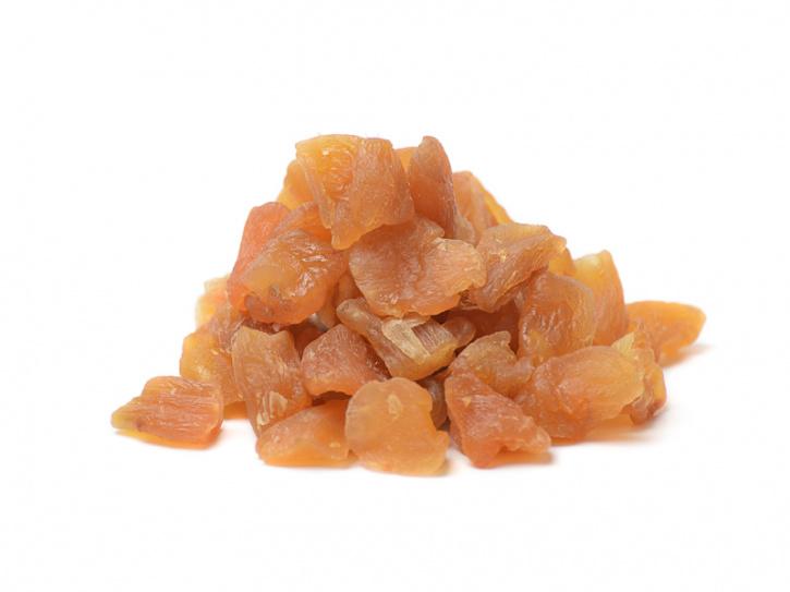 Ingwer Würfel mit wenig Fruktose gesüßt