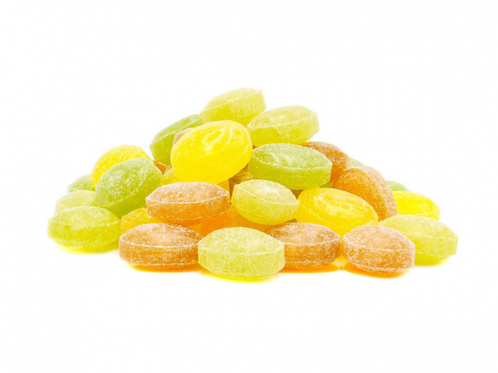 Kräutermischung-Kräuterbonbons, ohne Zucker