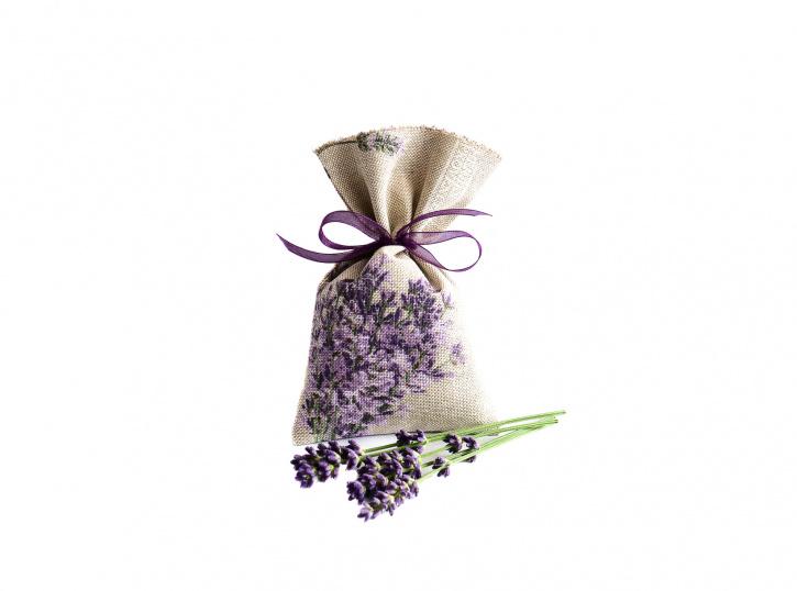 Lavendelsäckchen grau-beige 4 Stück