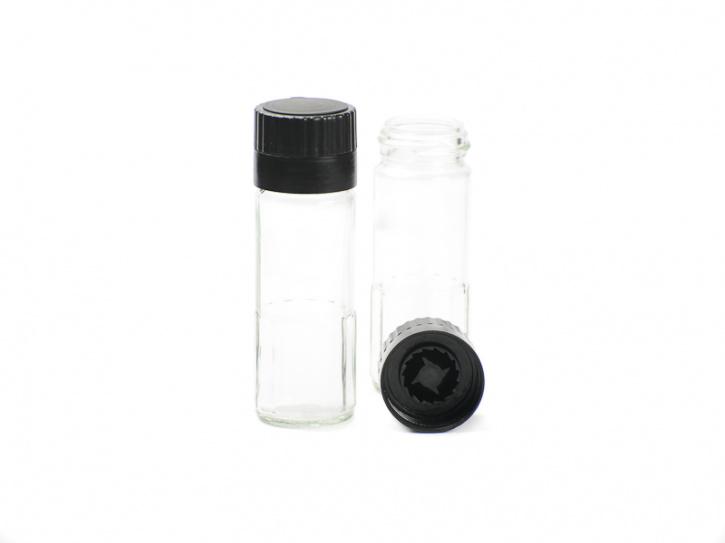 Gewürzmühle aus Glas