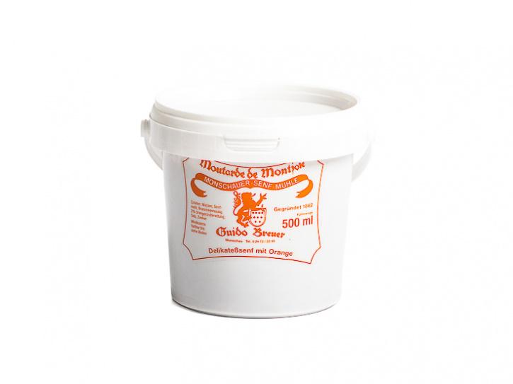 Orangen-Senf - Monschauer Senf - Moutarde de Montjoie - 500 ml