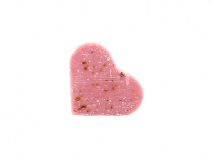 Rosenseife in Herzform