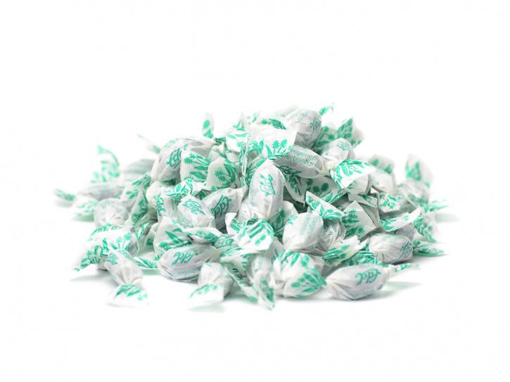 Spitzwegerich-Bonbons (gefüllt und gewickelt)