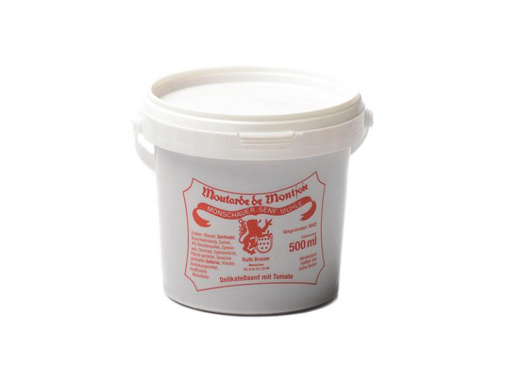 Tomaten-Senf - Monschauer Senf - Moutarde de Montjoie - 500 ml