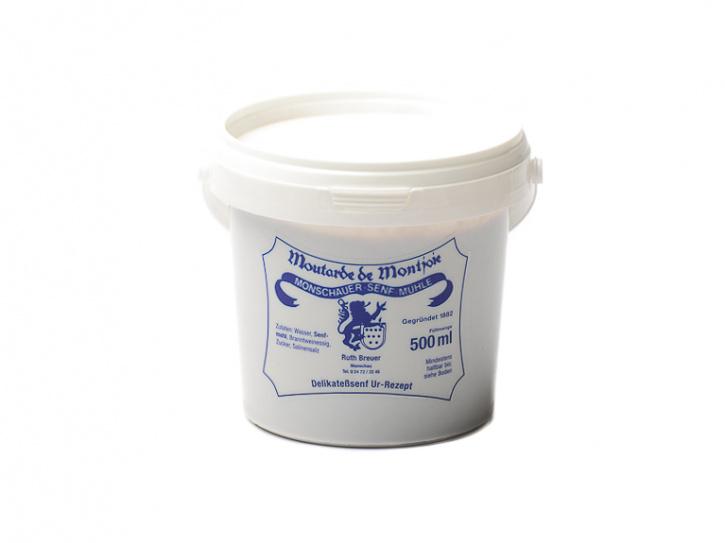 Ur Rezept - Monschauer Senf - Moutarde de Montjoie - 500 ml