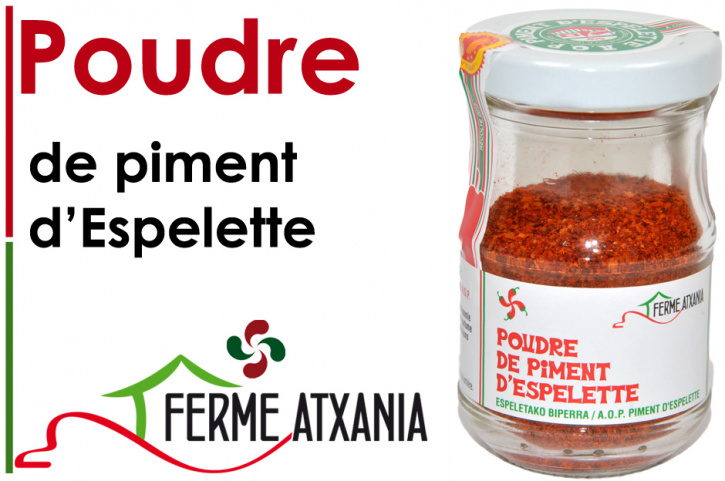 Piment D'Espelette A.O.P. 40g
