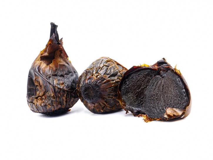 Schwarze fermentierte Zwiebel aus Spanien 3 Stück