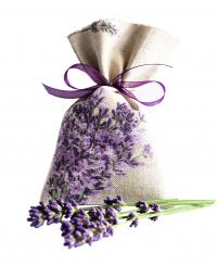 Lavendelsäckchen grau-beige 1 Stück
