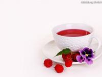Erdbeer-Himbeer (Früchtetee)
